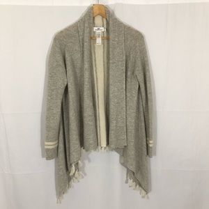 Vineyard Vines Wool Cashmere Waterfall Cardigan XS